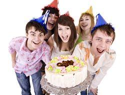 День рождения подростка дома